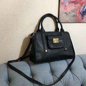 3:1 Phillip Lim for Target Leather Satchel Bag Blk